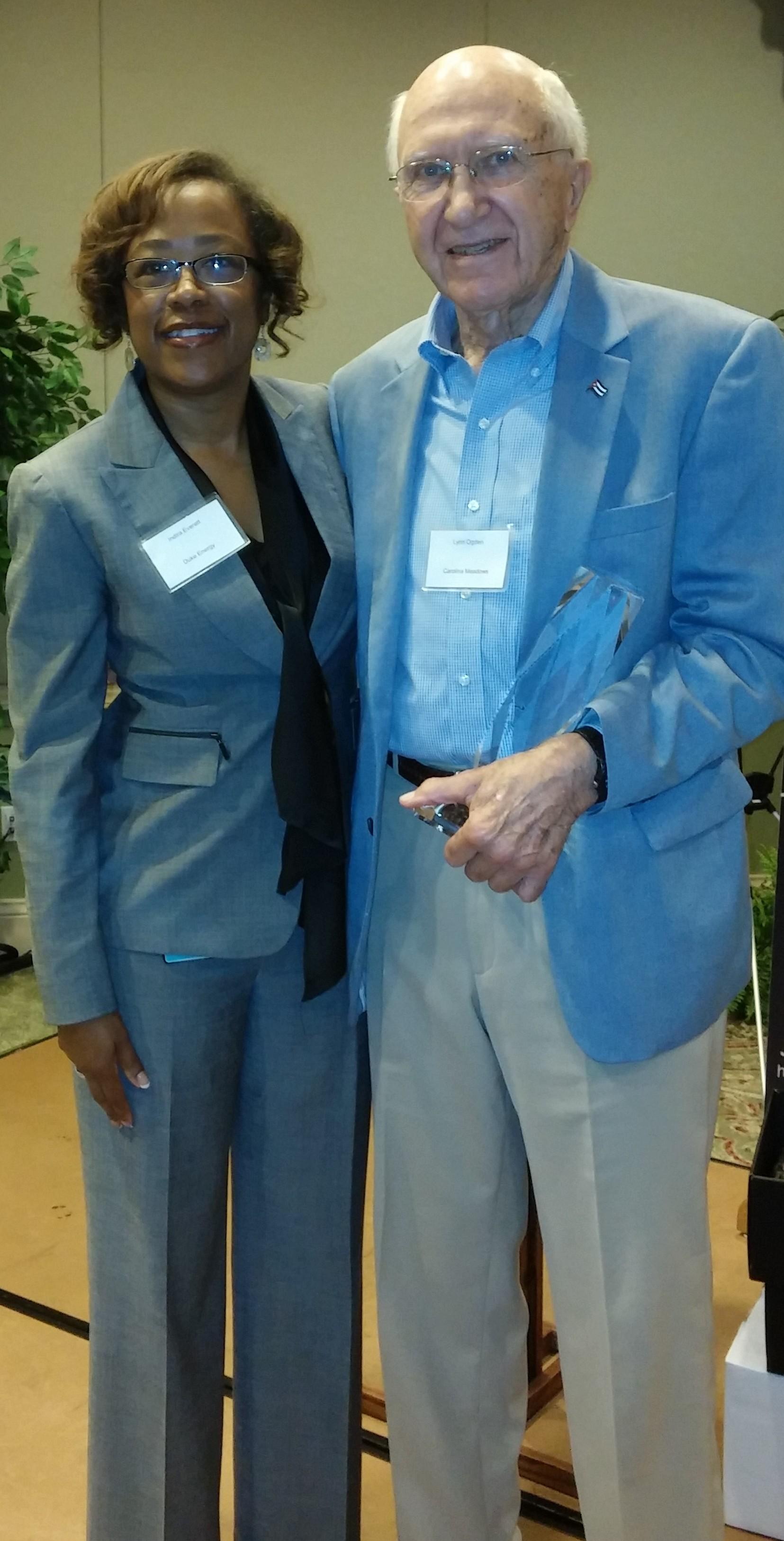 Lynn Ogden & Indira Everett-Citizens Award-Sept 2015
