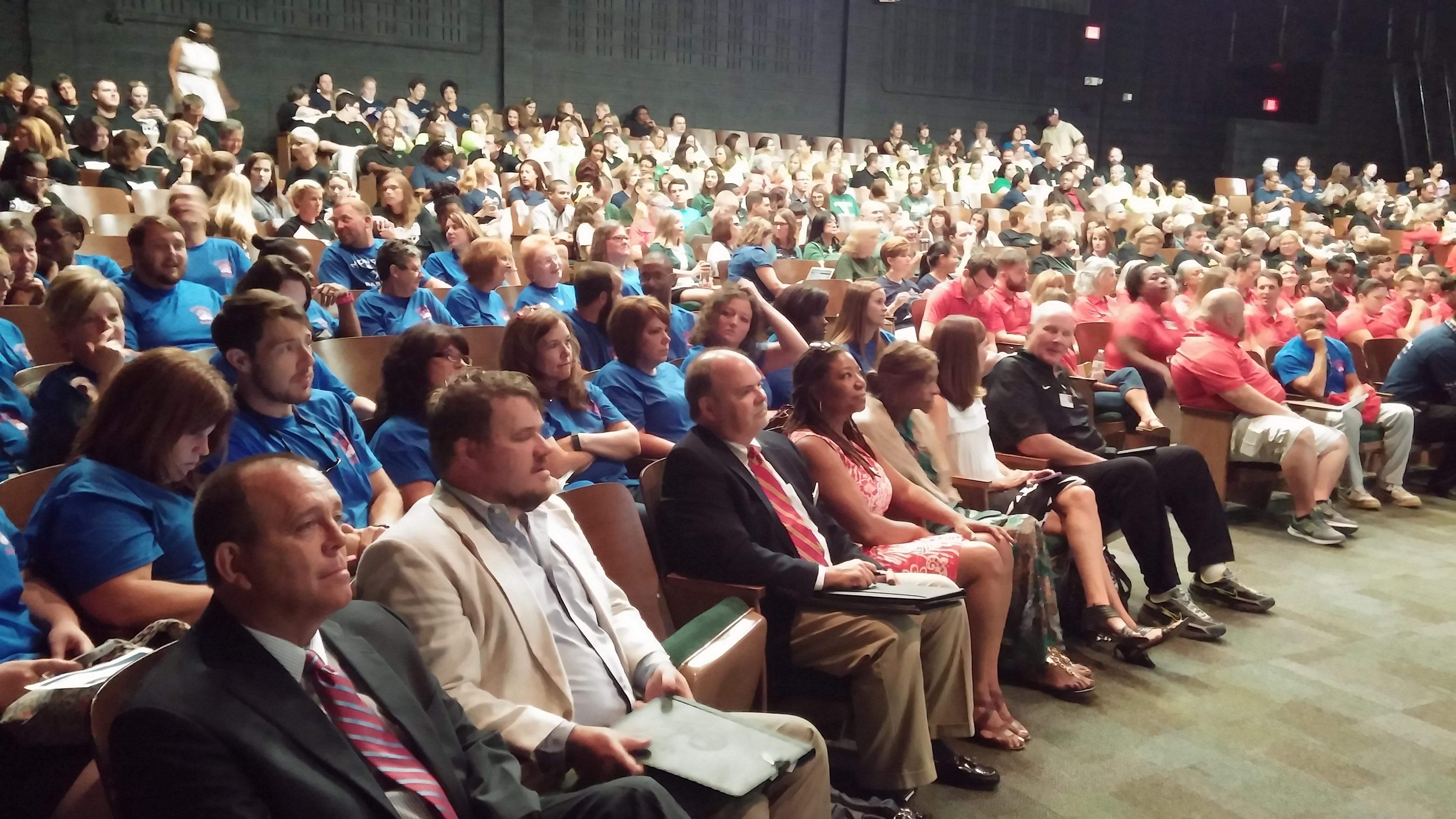 School Convocation Crowd 2016