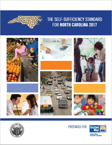 Self-sufficiency standard for 2017 cover image