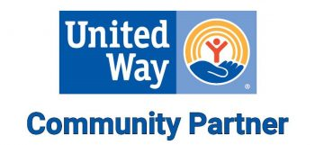 United Way Community Partner sign.