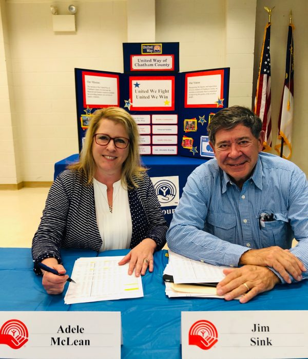 GV Adele and GC Jim in March, 2019, United Way